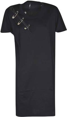 Versace Safety Pin T-shirt Dress