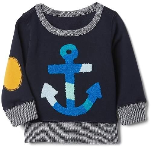 Anchor Crewneck Sweater
