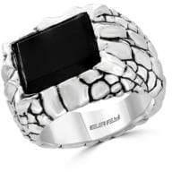 Effy Mens 925 Sterling Silver Ring