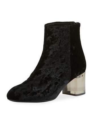 Rag & Bone Drea Crushed Velvet Ankle Boot