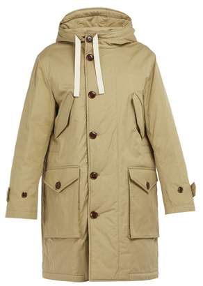 Acne Studios Padded Cotton Gabardine Parka - Mens - Beige