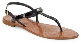 Kate Spade Citrine Leather Thong Sandals