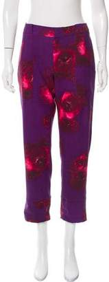 Timo Weiland Floral Print Straight-Leg Pants