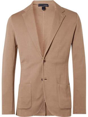 Lardini Sand Slim-Fit Unstructured Cotton Blazer