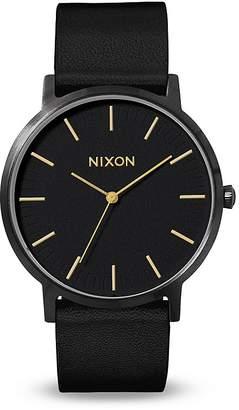 Nixon Porter Strap Watch, 40mm
