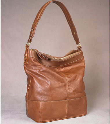 Riverdale Leather Oversized Bucket