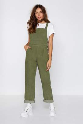 Nasty Gal Utility Rad Babe Tie Back Overalls