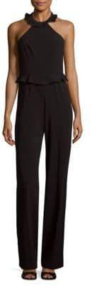 Jay Godfrey Rainey Halterneck Jumpsuit