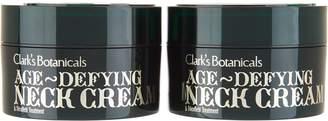 Clark's Botanicals Clarks Botanicals Age Defying Neck Cream Duo Auto-Delivery