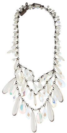 prada Prada Plex Crystal Necklace