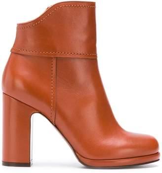 L'Autre Chose platform ankle boots