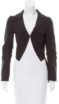 Elizabeth and James Draped Wool Jacket