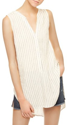 Women's Sanctuary Arlo Linen Blend Tunic $79 thestylecure.com