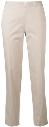 Alberto Biani cropped tapered trousers