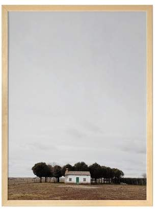 Urban Road Little Cottage Framed Print Frame /