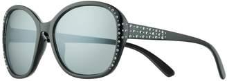 Girls 5-12 Elli By Capelli Plastic Round Rhinestone Sunglasses