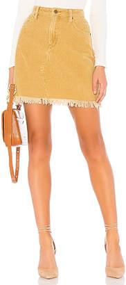 MinkPink Empire Cord Mini Skirt