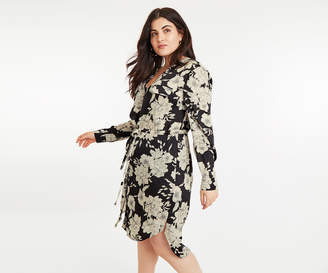 Oasis CURVE BLOOM SHIRT DRESS*