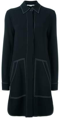 Stella McCartney stitching detail shirt dress