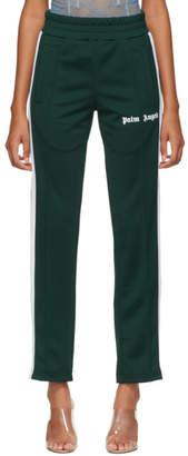 Palm Angels Green Classic Track Pants