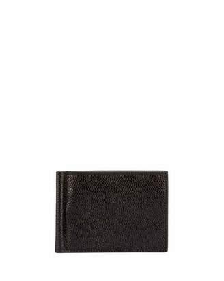 Thom Browne Men's Leather Wallet w/ Money Clip