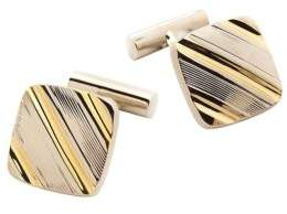 Black & Brown Black Brown Square Cuff Links