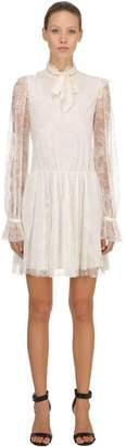 Philosophy di Lorenzo Serafini Floral Lace Mini Dress