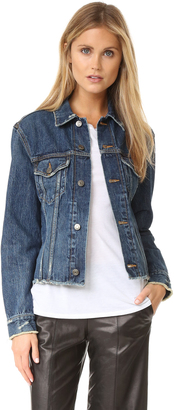 Vince Denim Jacket $345 thestylecure.com