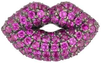 Rubie's Costume Co Shelly Zucker Jewelry Lips Earring with