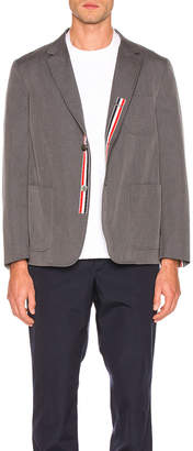 Thom Browne Patch Pocket Blazer in Medium Grey | FWRD