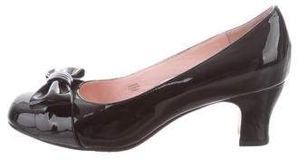 Taryn Rose Patent Leather Round-Toe Pumps