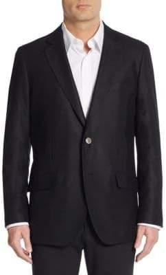 Saks Fifth Avenue Slim-Fit Textured Wool Sport Coat