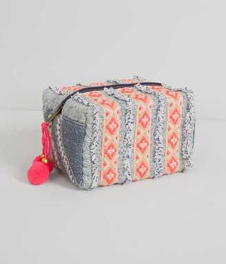 En Crème Pieced Cosmetic Bag $19.95 thestylecure.com
