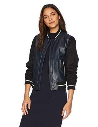 Levi's Women's Mixed Media Bomber Jacket