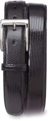 Torino Belts Lizard Leather Belt