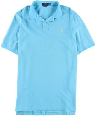 Ralph Lauren Mens Mesh Rugby Polo Shirt L