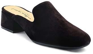 Bettye Muller CONCEPTS Beckett Leather Block Heel Mule
