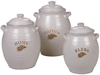 Certified International Gather Canisters, Set of 3
