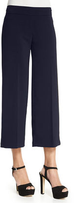 Avenue Montaigne Alex Wide-Leg Crop Pants $270 thestylecure.com