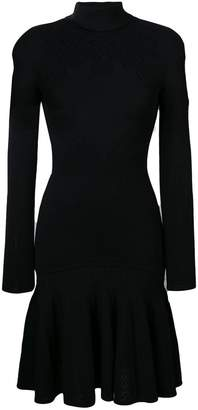 Roberto Cavalli knit detail dress