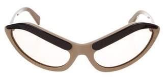 Prada Cat-Eye Eyebrow Sunglasses