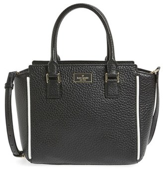 Kate Spade New York 'prospect Place - Small Hayden' Leather Satchel $328 thestylecure.com