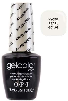 OPI GelColor by Soak-Off Gel Laquer nail polish - Kyoto Pearl - GC L03