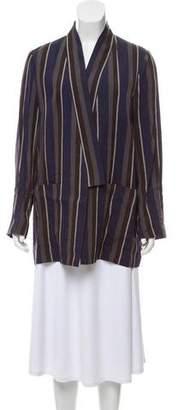 Mantu Striped Open-Front Blazer w/ Tags