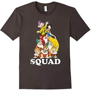 Disney Snow White Seven Dwarves Squad Pile Graphic T-Shirt