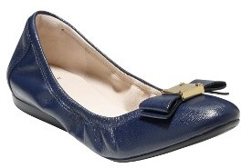 Women's Cole Haan 'Tali' Leather Ballet Flat $170 thestylecure.com