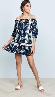 After Market Woven One Shoulder Dress