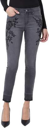 Liverpool Sadie Embroidered Release Hem Jeans