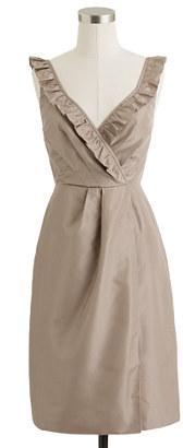 J.Crew Elyse dress in silk taffeta
