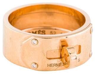 Hermes 18K Diamond Kelly Ring